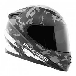 STRAIGHT SAVAGE™ SS1600 Helmet White / Black