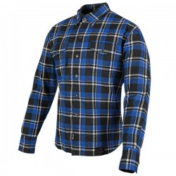 BLACK NINE™MOTO SHIRT Blue /Black