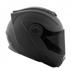 SOLID SPEED™ SS1710 MODULAR HELMET Matte Black