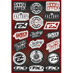 FX LOGO STICKER SHEET