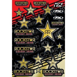ROCKSTAR GOLD STICKER SHEET