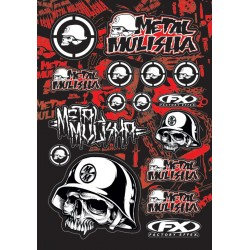 METAL MULISHA STICKER SHEET 2