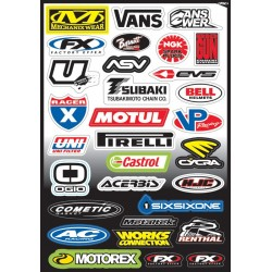 SPONSOR KIT C STICKER SHEET