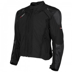 TRANS CANADA 2.0 Black/Black TEXTILE JACKET - By Joe Rocket