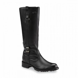 Martino Women's Elise Black Waterproof Knee-High Boot