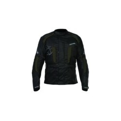 SUBWAY Mens long textile jacket black/grey