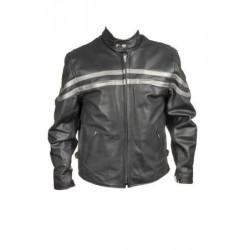 SHORT Jacket With Stylish Silver Stripes