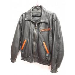 Bomber style Leather jacket -G705