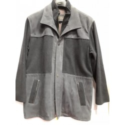 Casual Leather & Wool combo jacket 4802