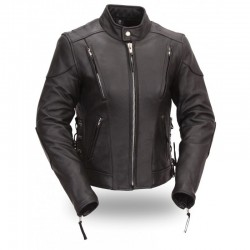 WOMEN'S VENTED LEATHER JACKETS