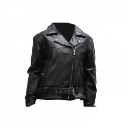 Womens Cowhide Motorcycle Jacket