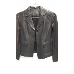 Ladies Leather Blazer 2227B
