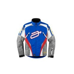 Arctiva COMP 7RR JKT BLUE/RED L