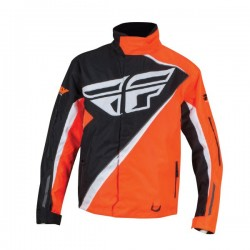 FLY RACING SNX PRO JACKET HIGH-VISIBILITY ORANGE/BLACK
