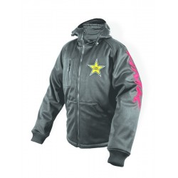 HMK - HOODED TECH SHELL ROCKSTAR BLK