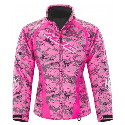 "HJC STORM S17 WOMEN""S PINK CAMO Jacket"
