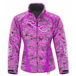 "HJC STORM S17 WOMEN""S GRAPE CAMO Jacket XS"
