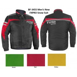 Snow jacket BF3455 RED/BLACK-3X