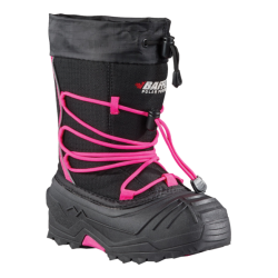 BAFFIN SNOGOOOSE YOUTH BOOT BLACK/PINK