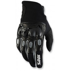 DERISTRICTED 100% DUAL SPORT GLOVE BLACK/ GREY
