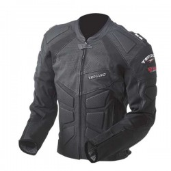 Teknic's MERCURY Perforated Leather jacket