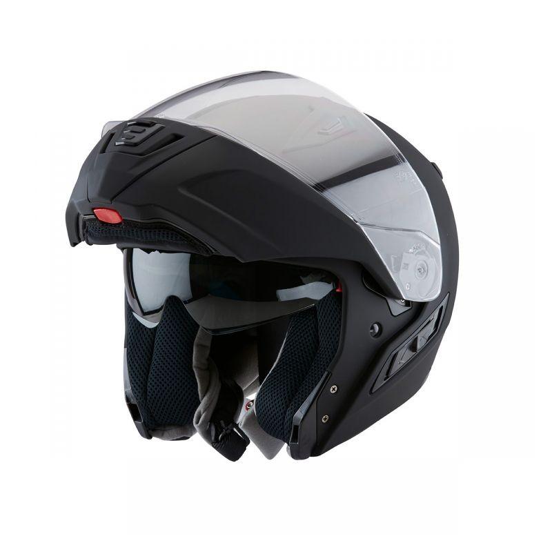 591bdf4b Zox CONDOR SVS Modular Helmet Matte Black - Leather King ...