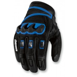 Compound Short Gloves BLUE by ICON
