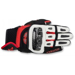 Alpinestars - GP-Air Leather Gloves black / White /Red