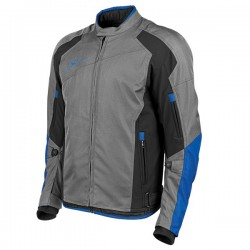SURE SHOT™ TEXTILE JACKET Blue / Black - by Speed & Strength