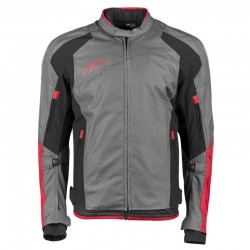 SURE SHOT™ TEXTILE JACKET RED/ Black - by Speed & Strength