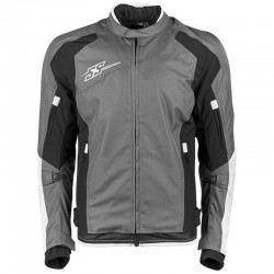 SURE SHOT™ TEXTILE JACKET White/ Black - by Speed & Strength