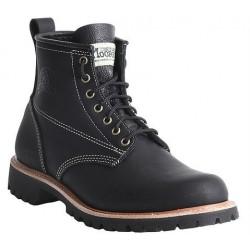 """Men's WM. Moorby footwear 2814 Black Loggertan 6"""" quarters - Unlined"""