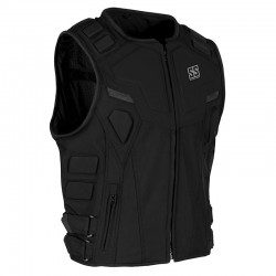 CRITICAL MASS™ ARMORED VEST Black - by Speed & Strength