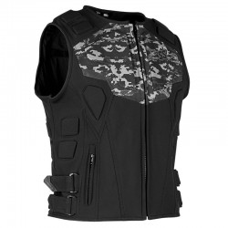 CRITICAL MASS™ ARMORED VEST CAMO - by Speed & Strength
