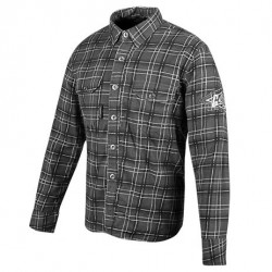 Joe Rocket GASTOWN ARMOURED MOTO SHIRT BLACK