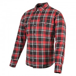 BLACK NINE™ MOTO SHIRT RED / BLACK - BY Speed & Strength