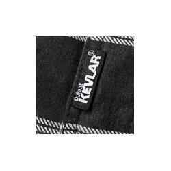 BLACK NINE™ MOTO SHIRT BLUE / BLACK - BY Speed & Strength
