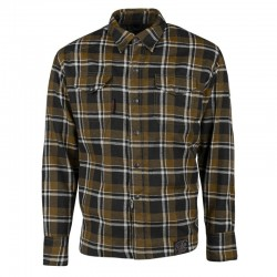 BLACK NINE™ MOTO SHIRT BROWN / BLACK - BY Speed & Strength