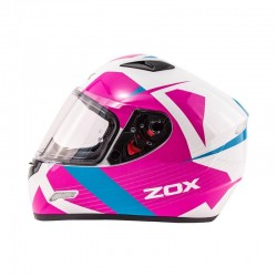GALAXY Helmet Pink / baby blue by Zox