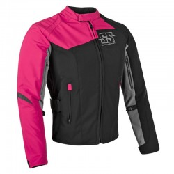 BACKLASH™ SOFTSHELL JACKET Pink by Speed & Strength