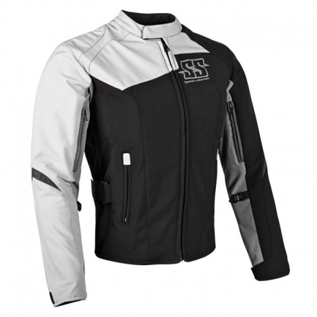BACKLASH™ SOFTSHELL JACKET White by Speed & Strength