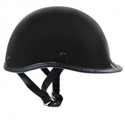 Polo Matte Black Novelty Helmet