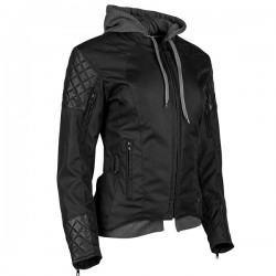 DOUBLE TAKE™ TEXTILE JACKET Black by Speed & Strength