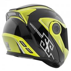 SS1710 SPLIT DECISION™ Modular Helmet Hi Vis / Black by Speed & Strength
