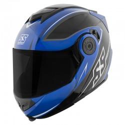 Modular Helmet - SS1710 SPLIT DECISION™ Blue / Black by Speed & Strength
