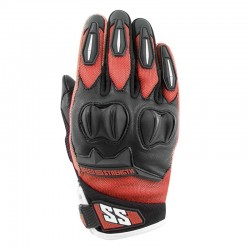 SPELLBOUND™ Leather / Mesh Gloves Red by Speed & Strength