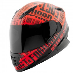 FAST FORWARD™ SS1310 Helmet Red / Black by Speed & Strength