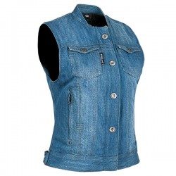 GLORY DAZE™ DENIM VEST Blue by Speed & Strength