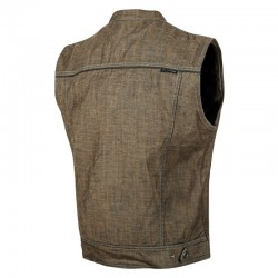 SOUL SHAKER™ Denim Vest BROWN by Speed & Strength