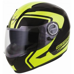 Scorpion EXO 500 WEST Helmet Black/Neon